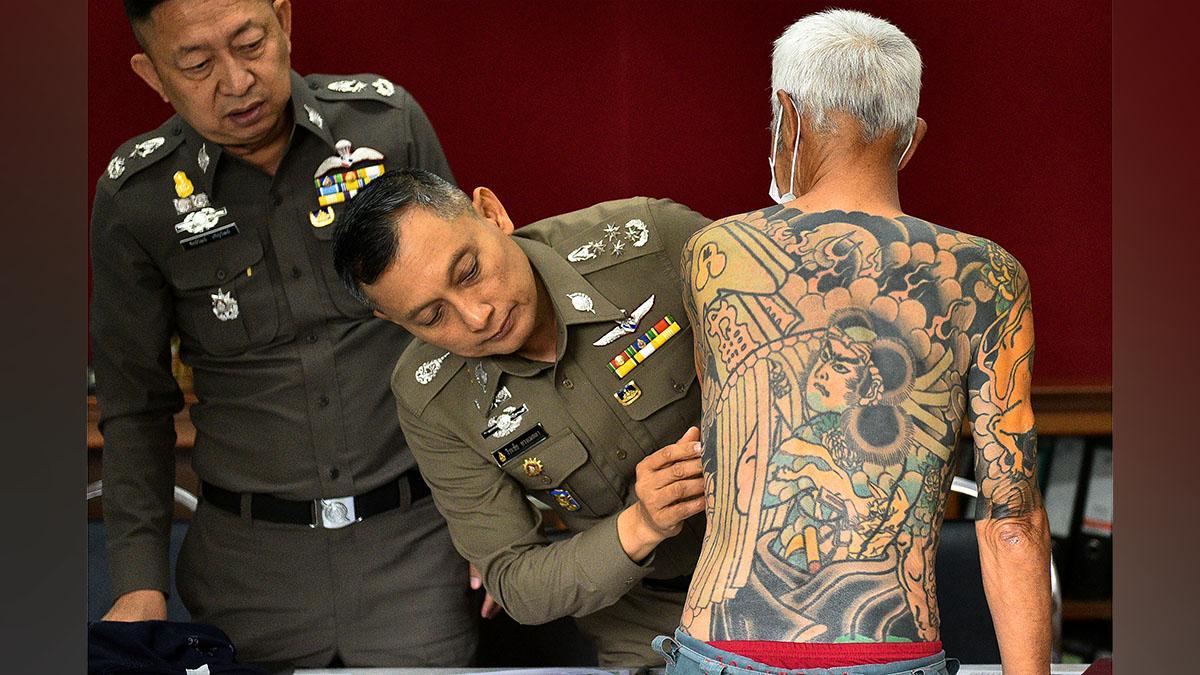 Makna Tato Yang Bikin Pemimpin Yakuza Ditangkap Di Thailand Kurio