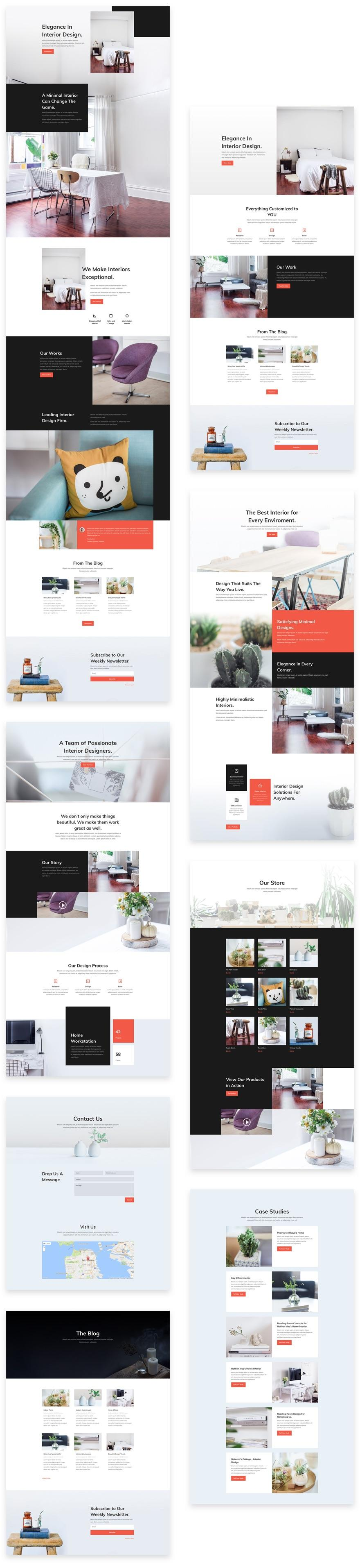 Download a Free & Refreshing Interior Design Layout Pack for
