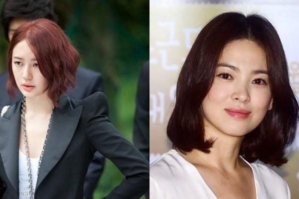 Rambut Pendek Ala Artis Korea Sedang