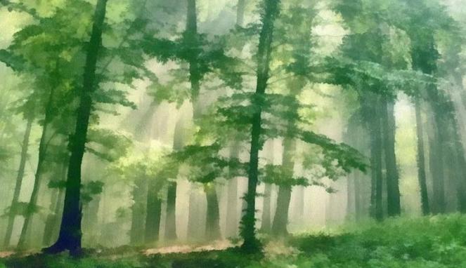 7 Lukisan Pemandangan Paling Sederhana Yang Sulit Untuk Ditiru Kurio