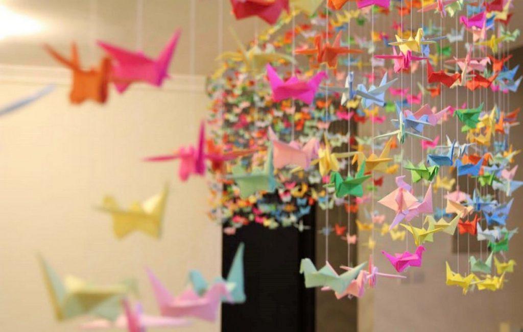 Hiasan Untuk Kamar Dari Kertas Origami Ideku Unik