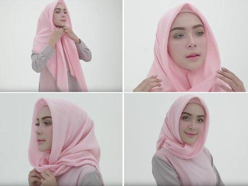 10 Cara Memakai Hijab Modis Syar I Dan Cadar Untuk Segala Umur Kurio