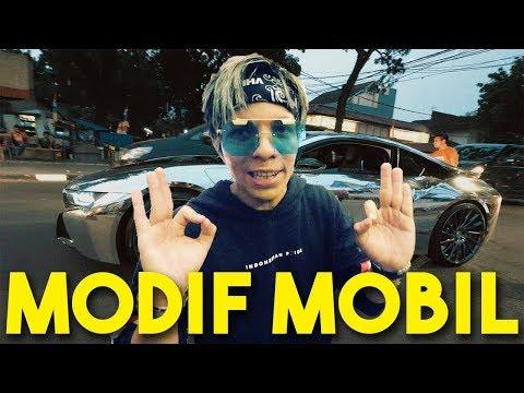 Lihat Nih Youtuber Atta Halilintar Modif Bmw I8 Jadi Berkilau