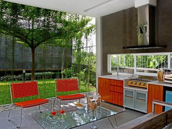 Design Dapur Menyatu Dengan Taman  konsep dapur minimalis terbuka untuk wujudkan dapur kecil