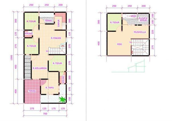 6200 Foto Desain Rumah 3 Kamar Ada Mushola Gratis Terbaik Download