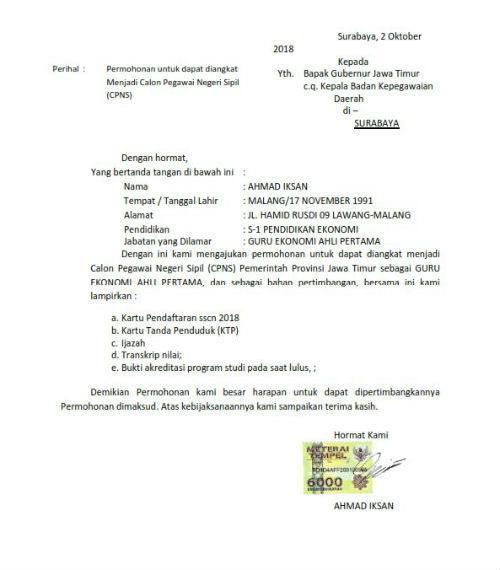 Tips Menulis Surat Lamaran Kerja Bonus Contoh Surat Lamaran Kerja