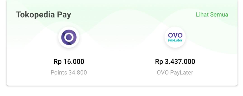 Tokopedia Is Now Provide Virtual Credit Card Ovo Paylater Kurio