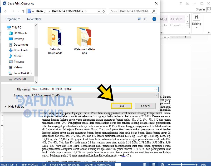 Aplikasi Pengubah Format Word Ke Pdf