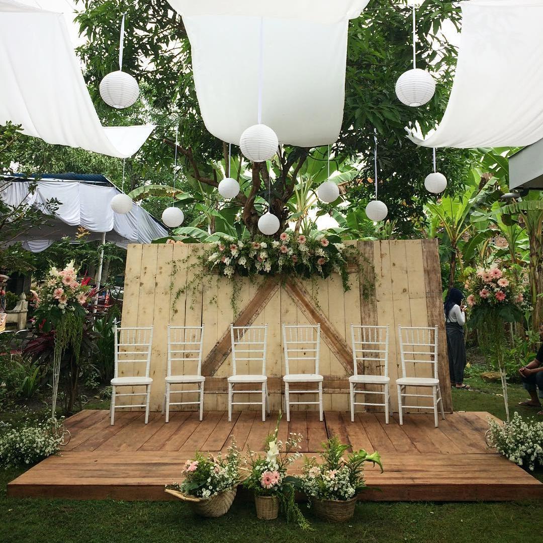 8 Dekorasi Pelaminan Sederhana Untuk Pernikahan Yang Elegan