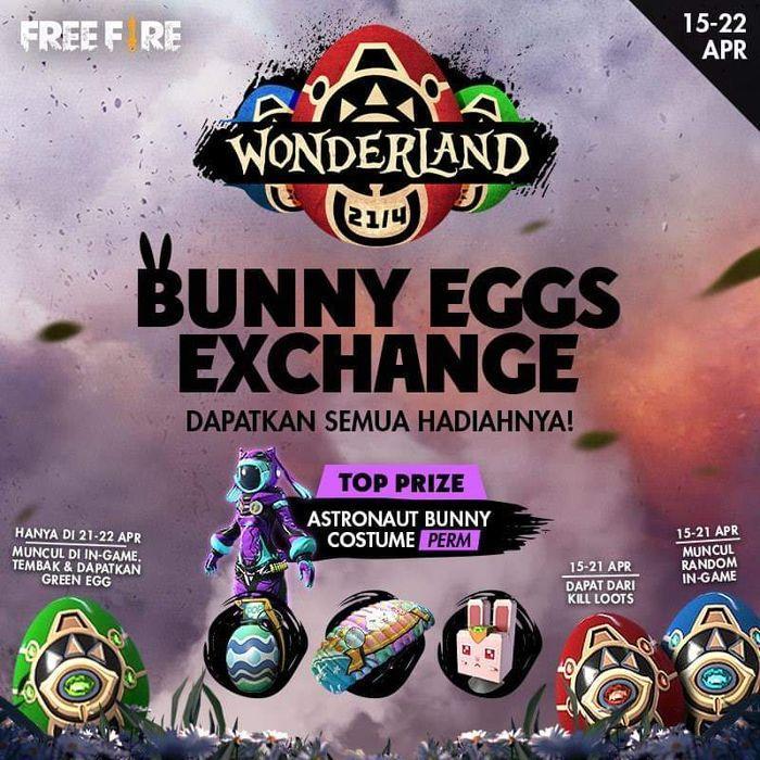 Event Gambar Bunny Free Fire Ikutan Kuy Event Terbaru Free Fire Wonderland Dan Raih Hadiahnya Kurio