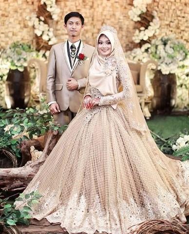 Tampil Cantik Di Hari Istimewa Dengan Gaun Pengantin Syar I Cek
