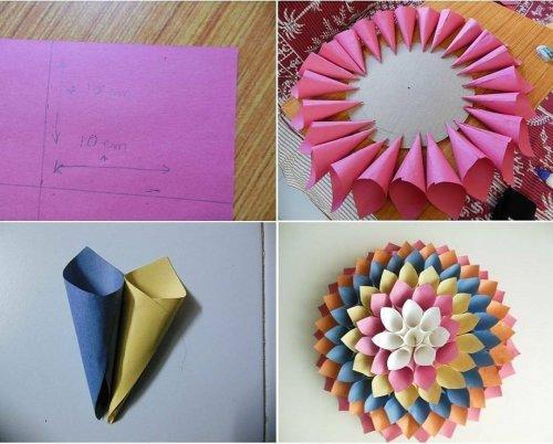 10 Rekomendasi Hiasan Bunga Dari Berbagai Macam Kertas Yang Cantik Untuk Dekorasi Ruangan Kurio