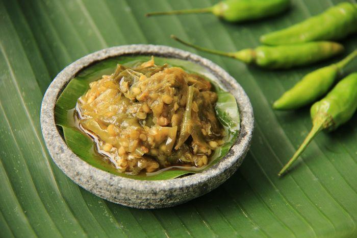 Sambal Ijo. Foto: Shutterstock