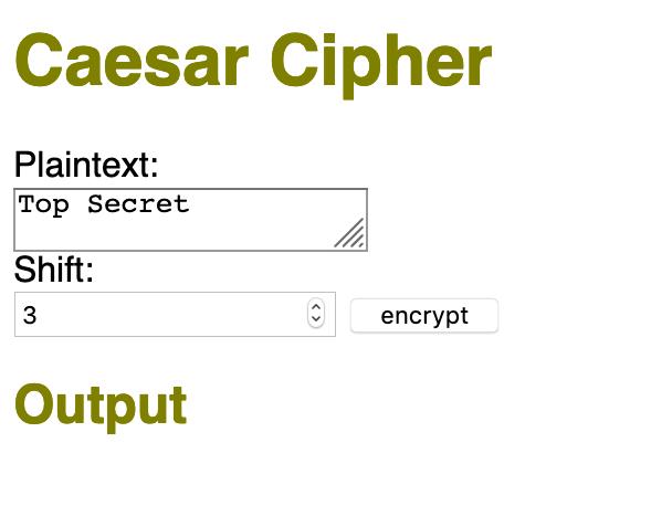 How to Build a Cipher Machine with JavaScript   KURIO