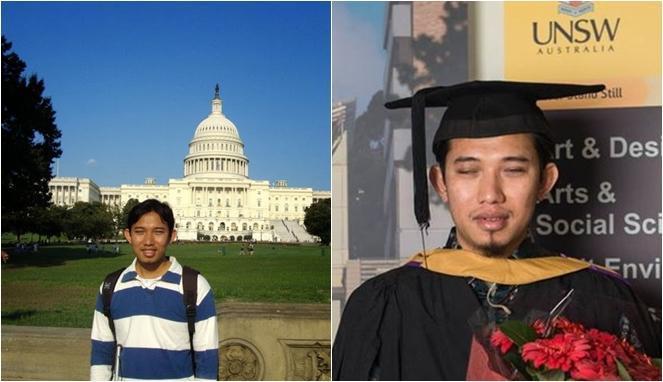 Taufiq Effendi, Tunanetra yang Dapat Beasiswa di 8 Kampus Luar Negeri dan Lulus Cumlaude 1