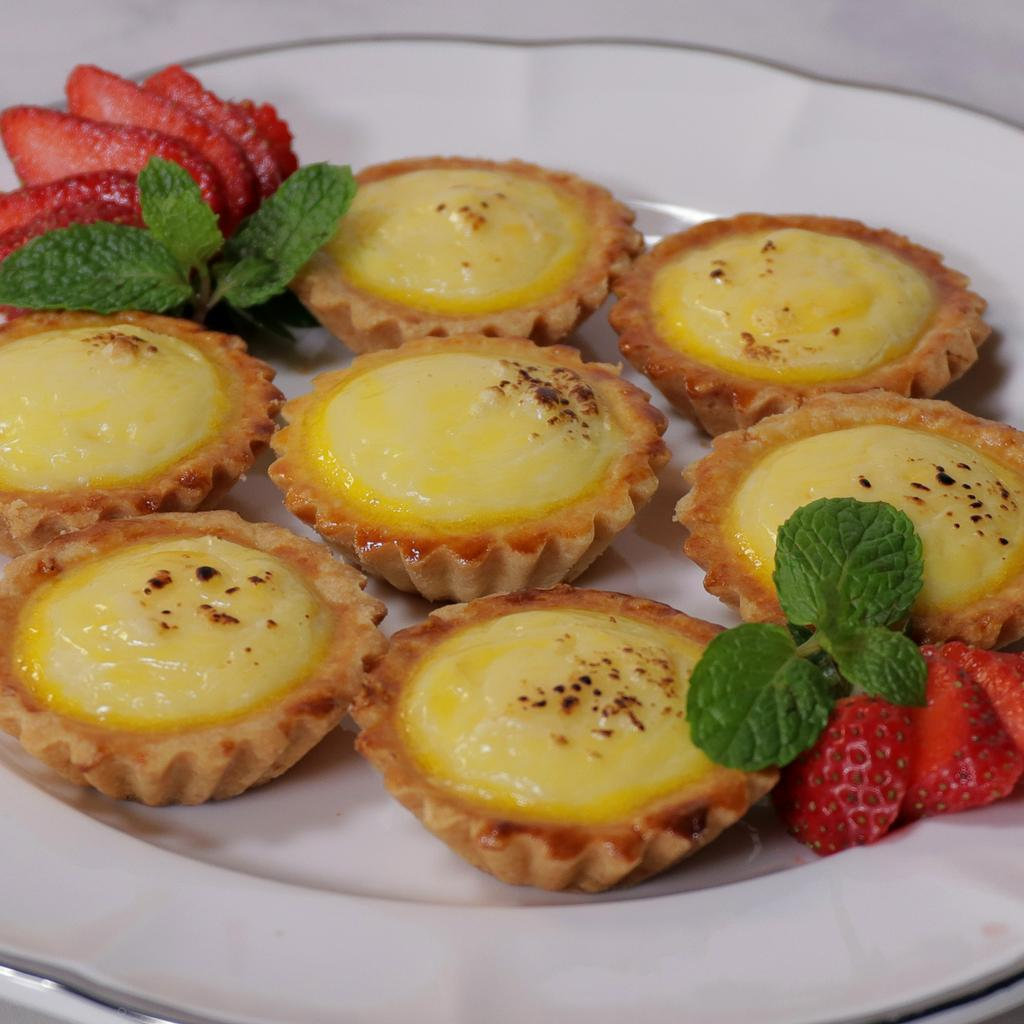 Resep Baked Cheese Tart | Endeus.TV